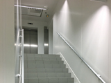 Transformation d'un escalier en zone de circulation propre
